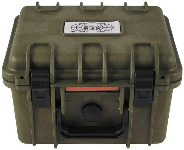 Box Kunststoff wasserdicht 26,7x23 9x17,6 cm oliv