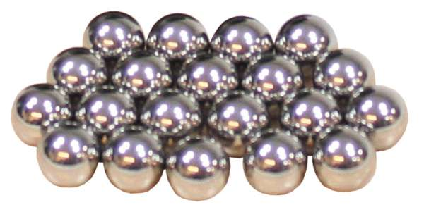 Stahlkugeln f. Steinschleuder ca. 8 mm 200 Stück