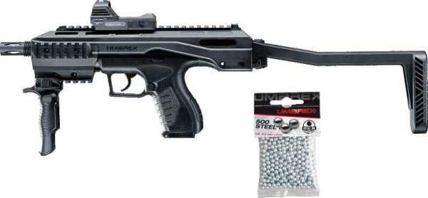 Umarex TAC Kit CO2 Luftpistole schwarz
