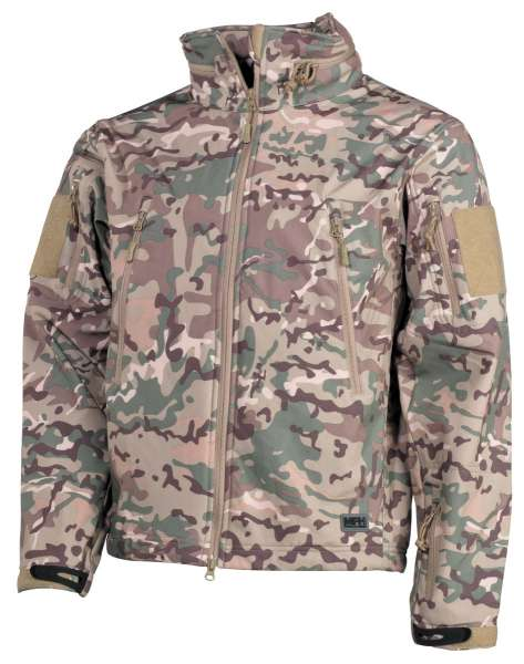 Soft Shell Jacke Scorpion operation-camo