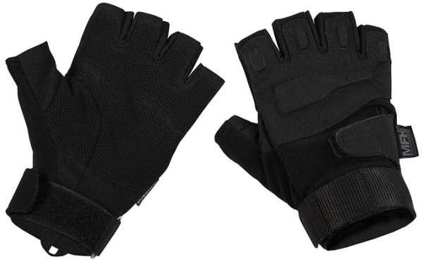 Tactical Handschuhe Protect ohne Finger schwarz