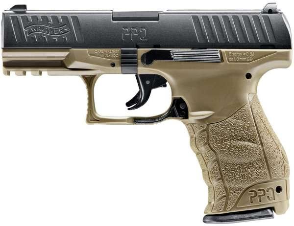 Walther ppq softair pistole 6 mm bb ral8000 kaufen bei demmer!