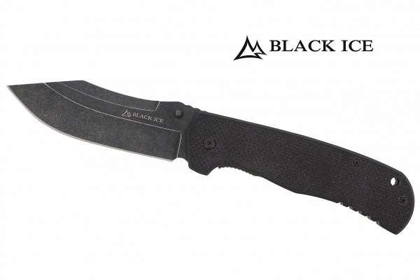 BLACK ICE Einhandmesser Njola II