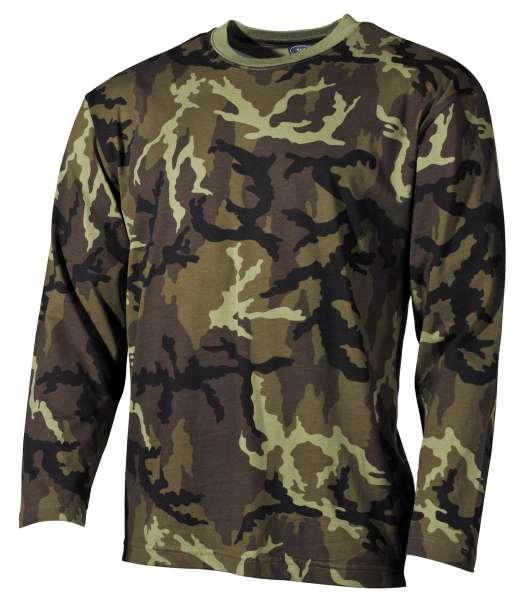 US Tarn-Shirt langarm M 95 CZ tarn