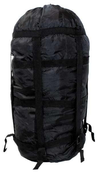 US Kompressionssack schwarz Modular für Schlafsack