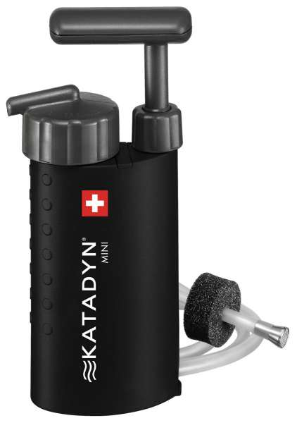 Wasserfilter Katadyn Mini schwarz