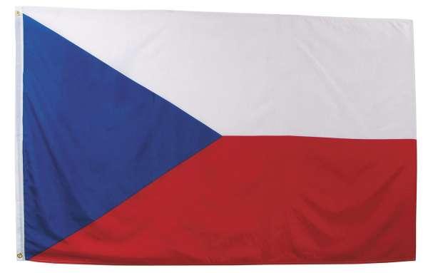 Fahne Tschechische Republik Polyester