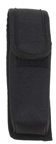 Taschenlampenholster Nylon schwarz