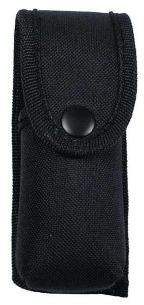 Verteidigungsspray-Etui Nylon schwarz