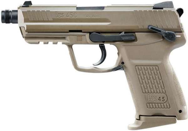 Heckler & Koch HK45CT Softair Pistole 6 mm BB FDE