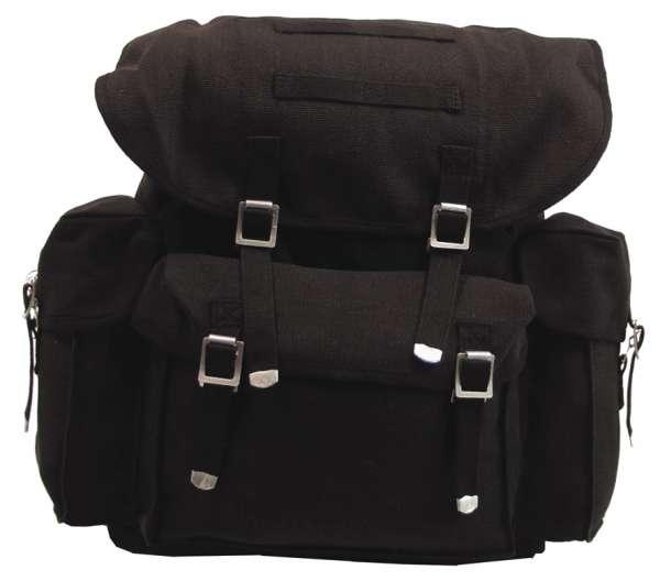 BW Rucksack Mod. schwarz mit Träger (wie BW Packtasche)