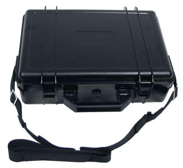 Box Kunststoff wasserdicht 39x29x12 cm schwarz