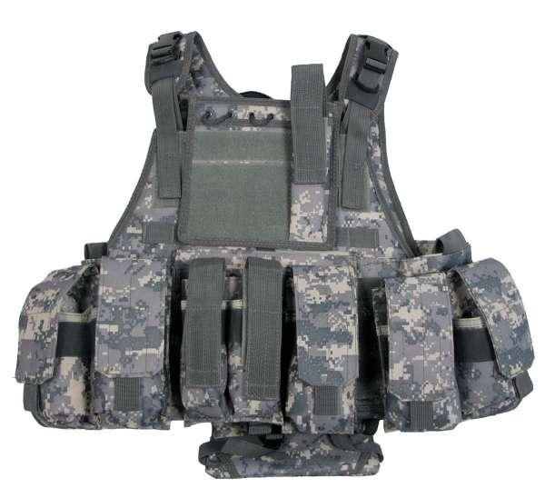 """Weste """"Ranger"""" mit div. Taschen Modular System AT-digital"""