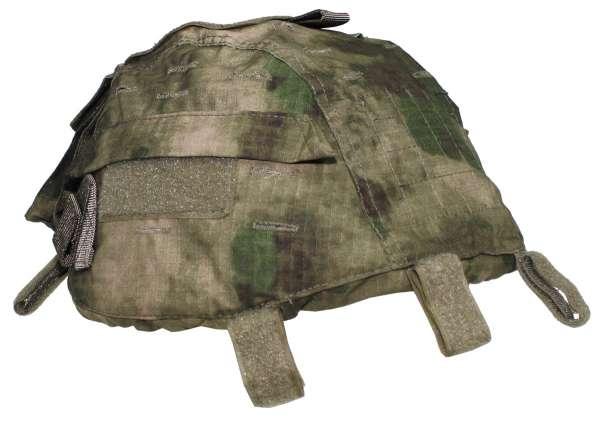 Helmbezug mit Taschen größenverstellbar HDT-camo FG