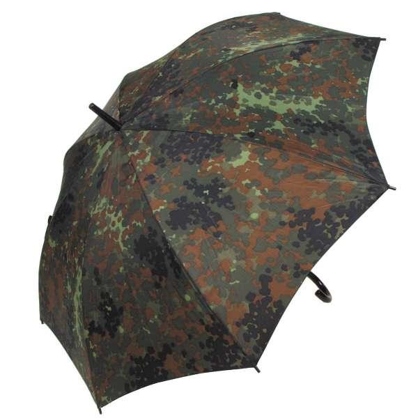 Regenschirm, flecktarn