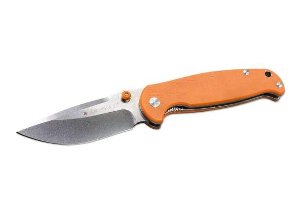 Real Steel H6 Orange Messer