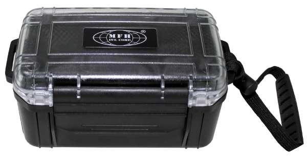 Box Kunststoff wasserdicht Netztasche schwarz