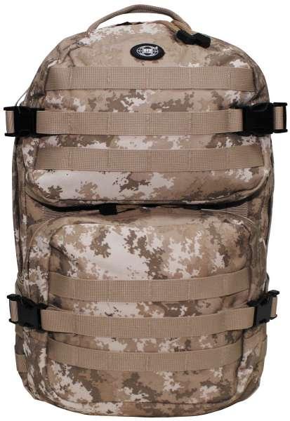 US Rucksack Assault II vegetato desert