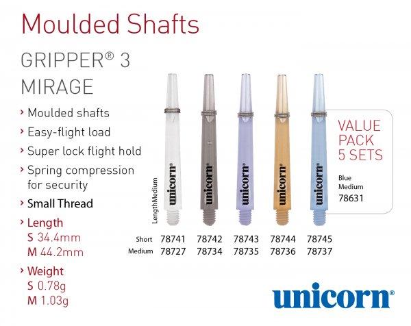 Unicorn Gripper 3 Mirage Shaft
