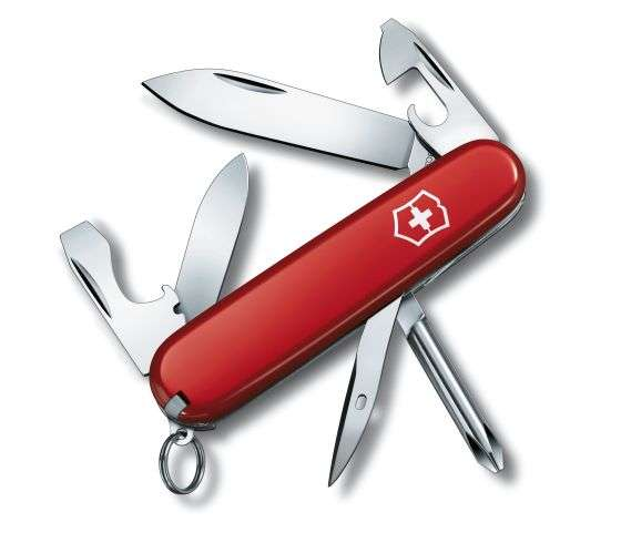 Offiziersmesser Tinker small rot