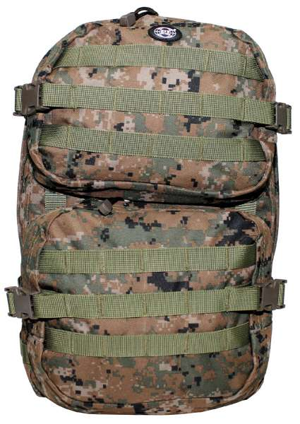 US Rucksack Assault II digital woodland