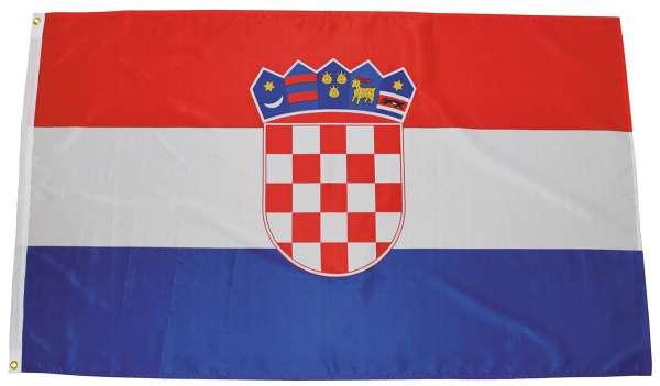 Fahne Kroatien Polyester