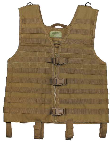"Weste ""Molle light"" Modular System coyote tan"