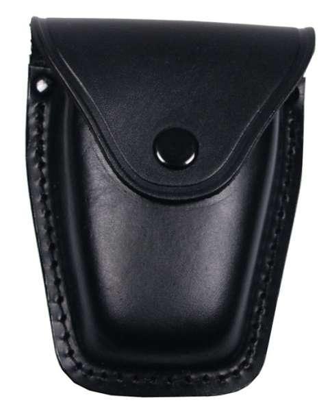 Handschellenetui Leder schwarz