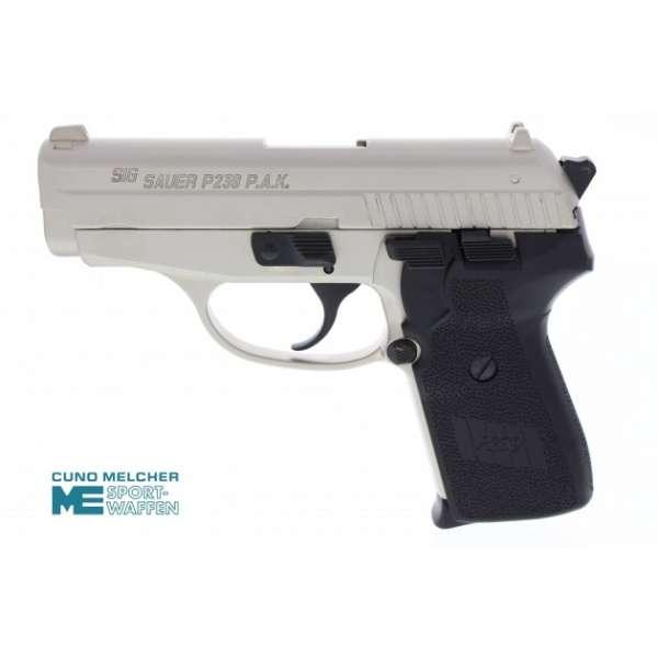 Sig Sauer P239 Schreckschuss Pistole 9 mm P.A.K. vernickelt