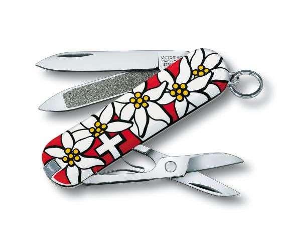 Kleines Taschenmesser Classic edelweiss