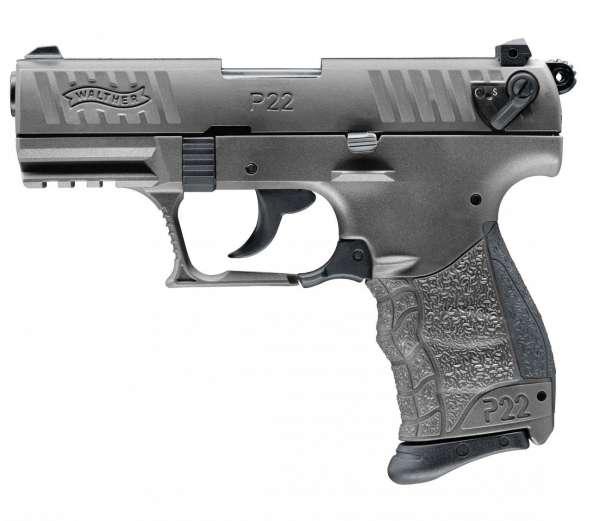 Walther P22Q Schreckschuss Pistole 9 mm P.A.K. Tungsten Grey