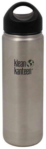"""Flasche Klean Kanteen """"Wide"""" einwandig Edelstahl 800 ml"""