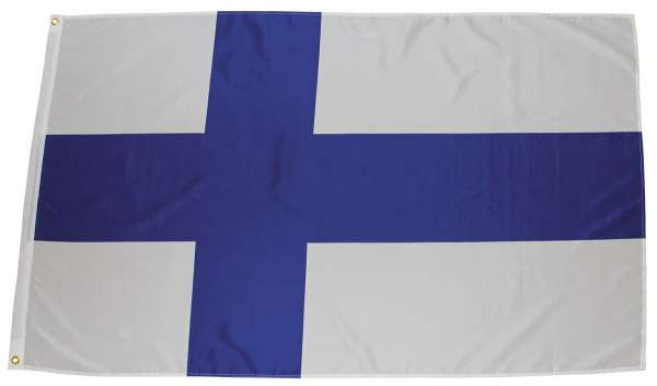 Fahne Finnland Polyester