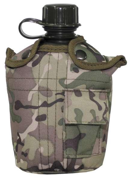US Plastikfeldflasche 1 l Hülle operation-ca. BPA-frei