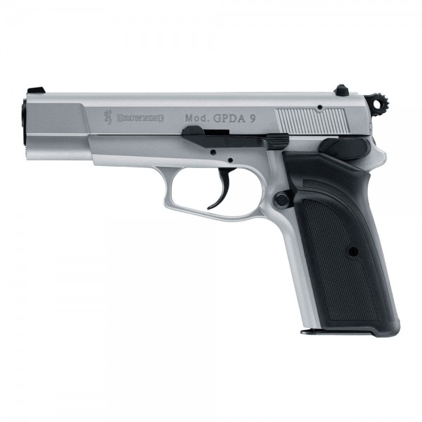 Browning GPDA 9 Schreckschuss Pistole 9 mm P.A.K. Crushed Silver