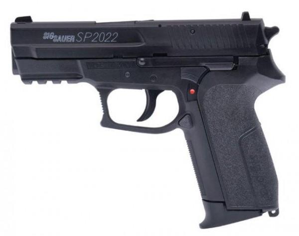 Sig Sauer SP2022 H.P.A. Softair Pistole 0,5 Joule 6 mm BB schwarz
