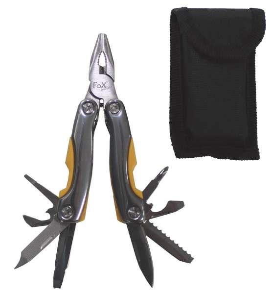 Werkzeugset kleine Ausf. mit Zange u. div. Messern