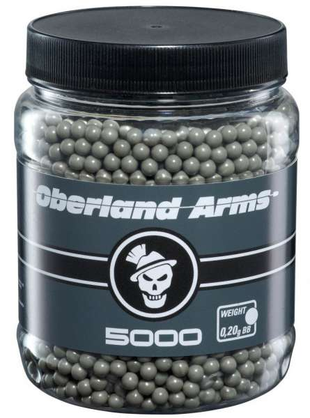 Oberland Arms 5000 BB´s 0,20g Black Label grau