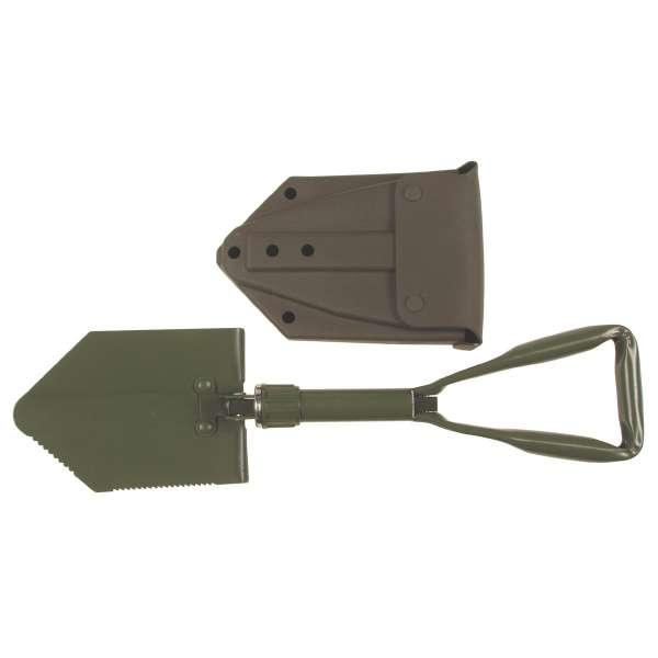 Klappspaten neues BW Model 3-tlg. mit Tasche
