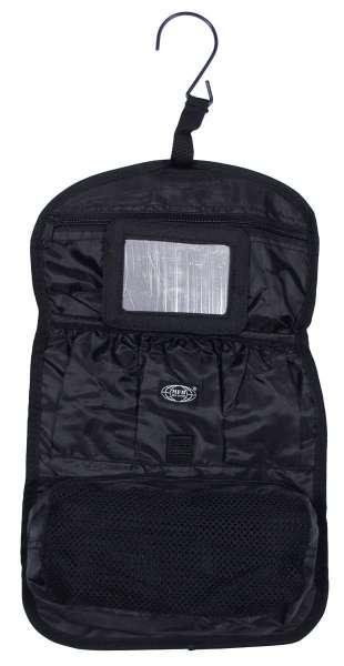 Waschzeugtasche schwarz div. Taschen rollbar