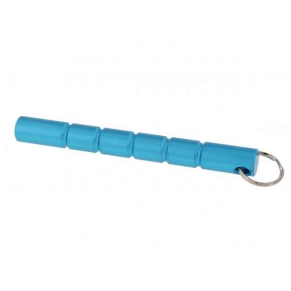Kubotan mit Schlüsselring, blau