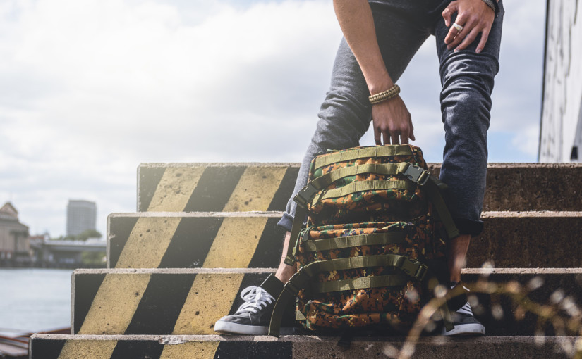 Der US-Rucksack.